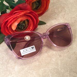 Joe's lavender blush cat eye sunglasses NWT